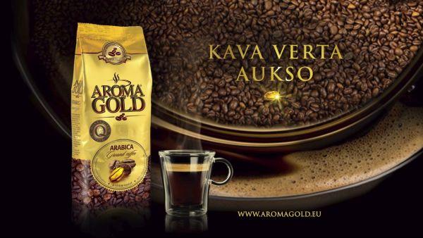 AROMA GOLD LĖTO SKRUDINIMO ARABIKA TVC